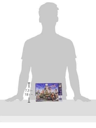 35/Pin Up Kit de Construction Gris Masterbox Echelle 1