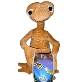 """Et Extra-terrestrial 8"""" Plush Doll Toy from universal studios"""