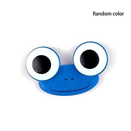 Big Eye Frog - Estuche para lentes de contacto: Amazon.es ...