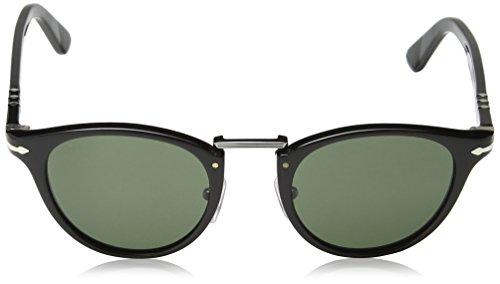 Persol black Sonnenbrille green Noir po3108s rzwrxq76