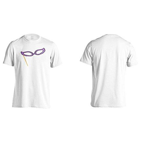 Neue Brille Komische Animation Herren T-Shirt l806m