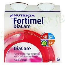 Nutricia Fortimel diacare aromatizante fresa 4 x 200 ml: Amazon.es: Salud y cuidado personal