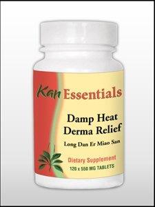 Kan Herb Damp Heat Derma Relief 120 tabs by Kan Herbs - E...