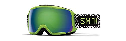 Smith Optics Grom Youth Snow Goggles - Flash Game Over/Green Sol-X Mirror/One Size