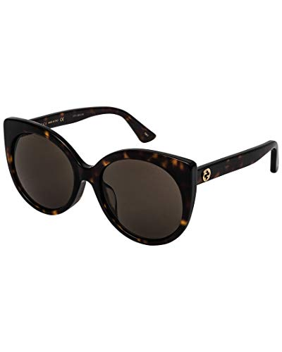Wholesale Gucci - Gucci Urban GG0325SA Sunglasses 002 Havana / Brown Lens 57 mm