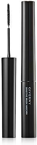 [GIVERNY] Sensitive Brush Mascara 4g/0.14oz (01 Black Volume) 2.5mm Micro Slim Brush No Smudging Natural Curl Clear Finish
