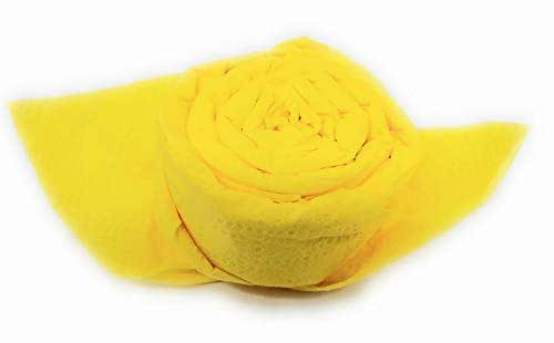Servilletas Rose in amarillo, set de 12