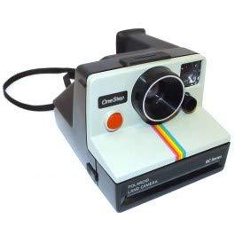 Retro Vintage Polaroid OneStep SX-70 Instant Film Camera Rainbow Stripe