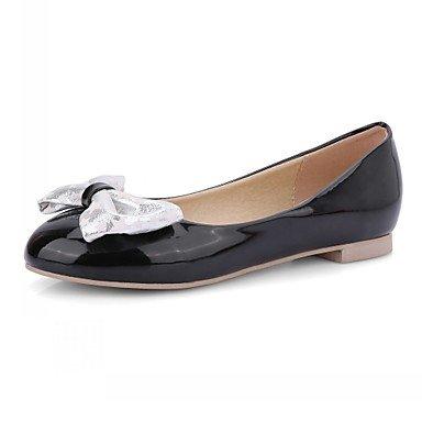 Cómodo y elegante soporte de zapatos de tacón para mujer primavera verano otoño invierno comodidad novedad pu piel sintética boda oficina y carrera partido y vestido de noche Casual Chunky talón negro