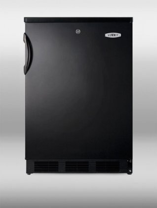 """Summit Commercial Series FF7L-BL 24"""" 5.5 cu.ft. Under"""