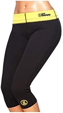 Pantalones cortos efecto sauna adelgazantes Hot Sapers fitness cuerda cuenta saltos de regalo varias medidas