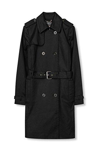 Noir ESPRIT Collection Black Femme Manteau ZrrwStq