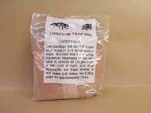 Red Log Wood Trap Dye 1 lb.