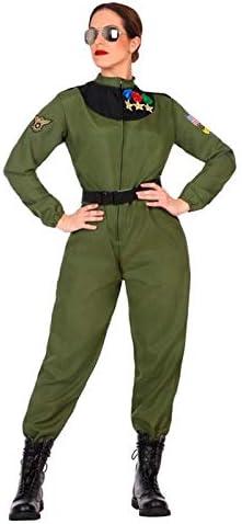 DISBACANAL Disfraz de piloto Militar para Mujer - -, XL: Amazon.es ...