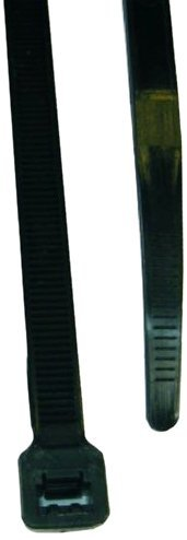 L.H. Dottie DT4B Cable Tie, Standard Duty, 4.12-Inch Length by 0.095-Inch Width by 0.042-Inch Thickness, UV Black, 100-Pack by L.H. Dottie
