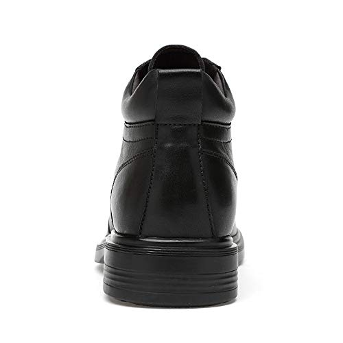 Invierno Superiores Redonda Altas Eu Casual 42 Negocios Dentro Fleece Moda Negro convencional Hombres Con Warm Botas De Opcional Para Jaypar Punta Tamaño Black color xOwv60qO