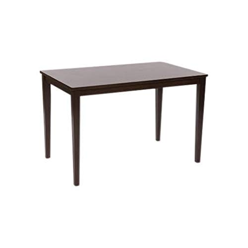 Target Marketing Systems Shaker Collection Contemporary Rectangle Dining Table Sized for 4, Espresso