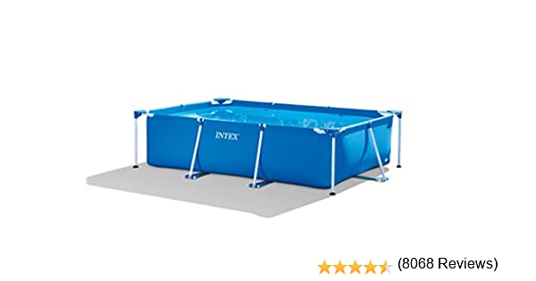 Intex 28272NP Small Frame - Piscina desmontable, 300 x 200 x 75 cm ...
