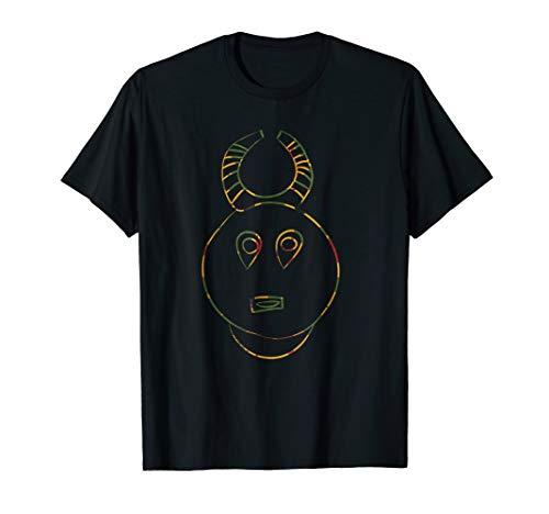 rint, Mask Style, Baule Tribe T-Shirt ()