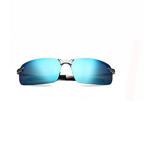 ペチコート男らしさ対角線メガネ?サングラス サングラスメンズ偏光メガネサングラス/タイドドライビングドライビングドライビングミラー/男性個々のアイスクエアサングラス (色 : 7)