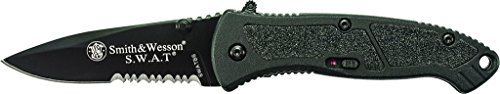 Smith & Wesson S.W.A.T. SWATBS Small M.A.G.I.C. Assisted Opening Liner Lock Folding Knife