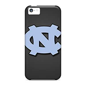 Durable Hard Phone Covers For Iphone 5c (ZcL17539LMiX) Provide Private Custom Stylish North Carolina Tar Heels Pattern