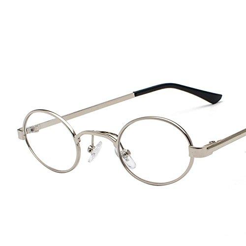 Aoligei Lunettes Retro ultra petit cadre ovale lunettes de soleil hommes et femmes de personnalité en général métal Ocean Film lunettes de soleil de couleur 7gNHq1wgD