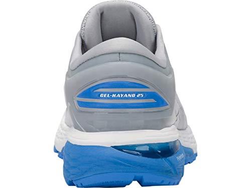 f83fb0671f99 ASICS Women's Gel-Kayano 25 Running Shoes, 9.5M, MID Grey/Blue ...
