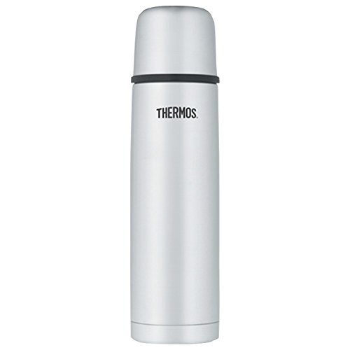 Thermos Vacuum Insulated 32 Ounce Compact Stainless Steel Beverage -