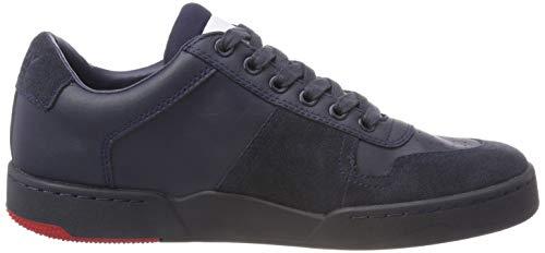 da Blu Ink 006 Denim Ginnastica Hilfiger Basse Basket Scarpe Uomo Sneaker xIwF8Fzq