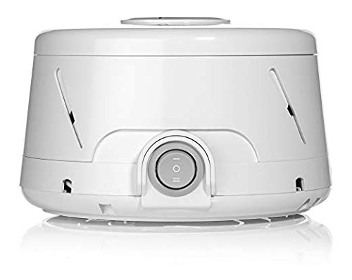 Marpac Dohm Classic (White) | The Original White Noise Machine (Renewed)| Soothing Natural Sound from a Real Fan | Noise Cancelling | Sleep Therapy, Office Privacy, Baby, Travel