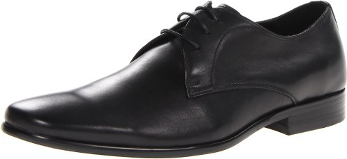 Steve Madden Mens Havin Oxford Nero In Rilievo