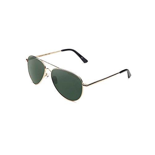 Gafas de sol Clandestine Gold Dark Green - Lentes de sol Polarizadas Hombre y Mujer