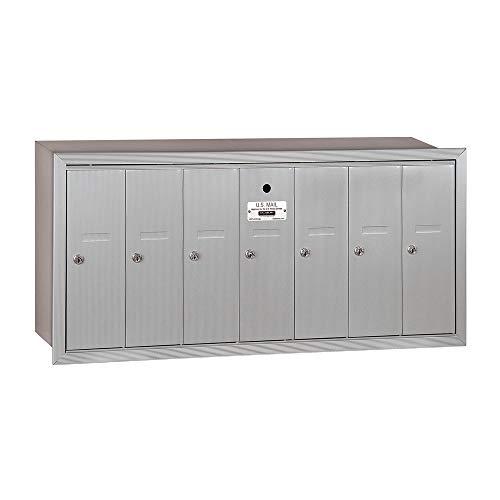 - Salsbury Industries 3507ARU Vertical Cluster Mailbox Aluminum