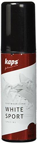 Shoe Whitener And Colour Restore For Sport Footwear, With Sponge Applicator, Kaps White Sport