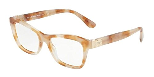 Womens 0DG4309 312113 Sunglasses, Pearl Brown Havana/Browngradient, 53 Dolce & Gabbana