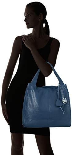 Hombro Chicca Bolsos Shoppers Y Mujer Cbc3312tar De Borse blu Azul xYrSqwYnH