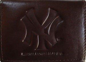 (New York Yankees Black Leather Wallet)
