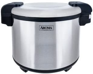 Aroma Housewares ARS-1094S Commercial 80-Cup Rice Warmer, Silver