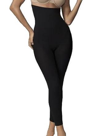 e2c2f8979bed4 Flexees Shapewear Tummy Toning High Waist Control Leggings  Amazon.co.uk   Clothing
