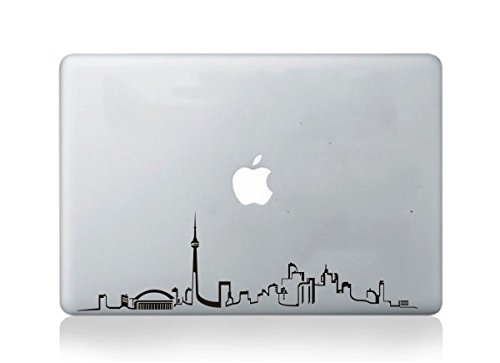 Toronto skyline silhouette macbook sticker decal for mac air pro 13 15 17