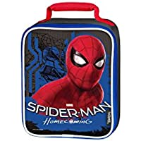 Thermos Spiderman Movie Soft Upright Lunch Kit (Black/Red)