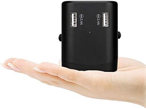 Cargador universal USB de 2 puertos para viajes en todo el mundo ...