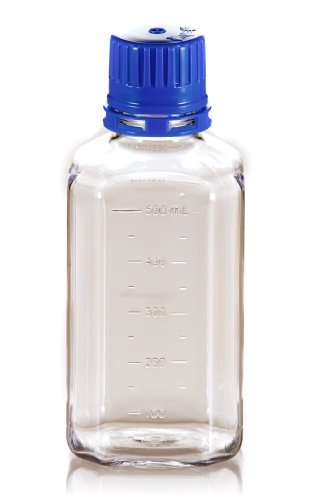 TriForest BGC0500S PETG Square Media Bottle, 500ml, 73.8