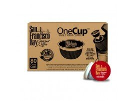 San Francisco Bay OneCup, Fog Chaser, 80 Single Serve Coffees (Pack of 2)
