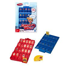 Hasbro Travel Guess Who Game Fun On The Run