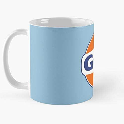 15 onzas para todos Mug Gulf Taza de caf/é de regalo de moda superventas negra cambia de color 11 onzas blanca