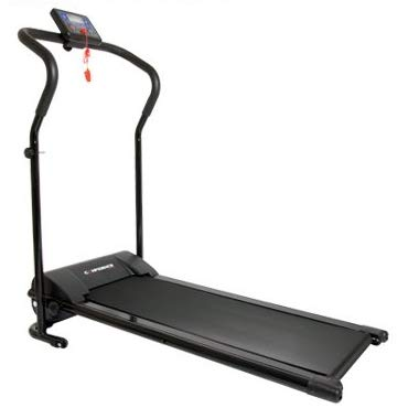 Confidence Power Plus Motorized Electric Treadmill Black - Folding Design for Easy Storage at Home
