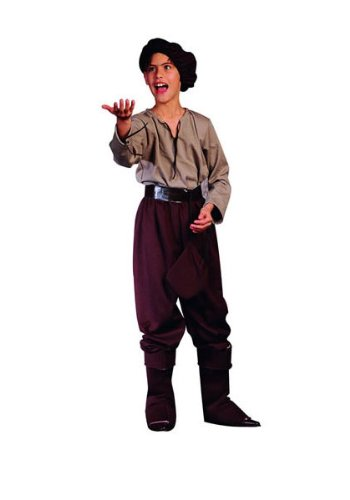 Child Renaissance Peasant Boy Costume (Renaissance Peasant (Standard;Child Small) by RG Costumes)