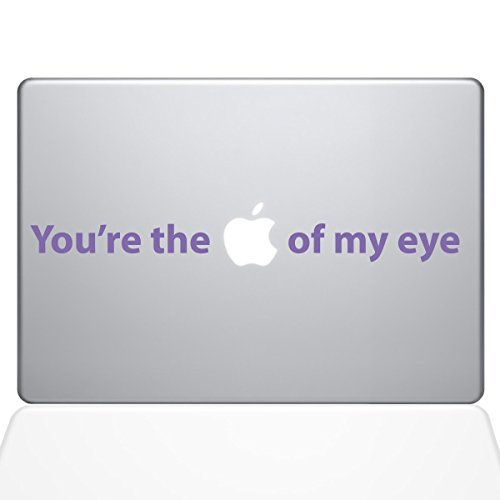 高品質の人気 The of Decal Guru 0195-MAC-15X-LAV 0195-MAC-15X-LAV You're the Macbook Apple of my Eye Vinyl Sticker 15 Macbook Pro (2016 & newer) Purple [並行輸入品] B07897GSXY, cavalleria:8308de43 --- a0267596.xsph.ru